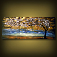Wonder - http://www.etsy.com/listing/90995611/tree-painting-palette-knife-textured