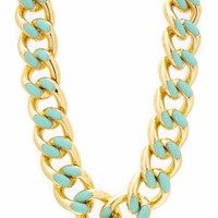 two-tone-chain-necklace-set GOLDMINT - GoJane.com