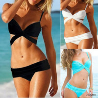 2013 fashion girl & lady hot sexy Push Up Padded Bikini Trikini Swimsuit