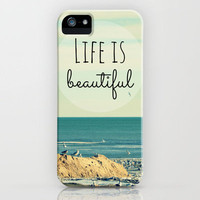 Life is Beautiful iPhone Case by RDelean | Society6