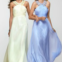 Clarisse 2107 Halter Evening Gown