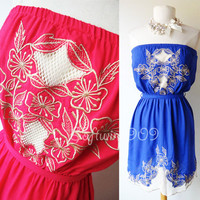 NWT Hot Pink OR Royal Bl...