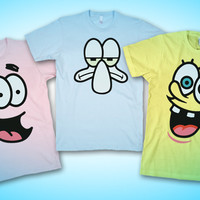 Sponge Bob And Crew Shirts!