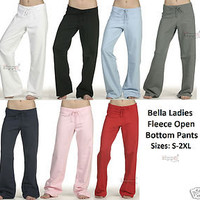 Bella Yoga Pant Cotton Fleece Sweatpant 7017 S-2XL