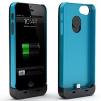 Maxboost Fusion Detachable External iPhone 5 Battery Case - Fits All Versions of iPhone 5 - Lightning Connector Integrated