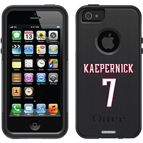 "Colin Kaepernick Number 7"" Colin Kaepernick design on OtterBox"