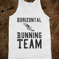 Horizontal Running Team Tank