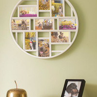 Round Here Photo Frame in White | Mod Retro Vintage Decor Accessories | ModCloth.com