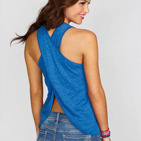 Holly V-neck Tulip Back Tank