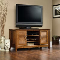 Walmart: Sauder Milled Cherry Panel TV Stand for TVs up to 47""