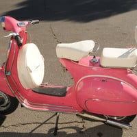 1963 VESPA VBB  PINK ! - 100% Rebult - Original Italian Frame - all new parts !  | eBay