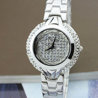 Original Melissa New 2012 Crystals Quartz Watch - GULLEITRUSTMART.COM