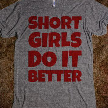 Short Girls Do It Better - Text First