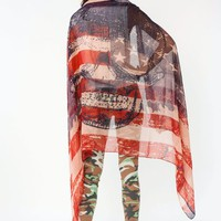 american-flag-skull-print-scarf NAVYRED - GoJane.com
