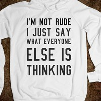 Not rude - S.J.Fashion
