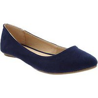 Women's Sueded Ballet Flats | Old Navy
