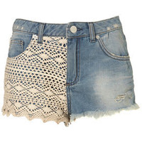MOTO Crochet Hotpants - Shorts