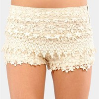 Sweet Cupcakes Short - Ivory