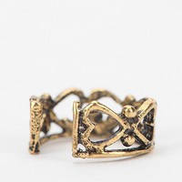 All Around Hearts Cuff Earring