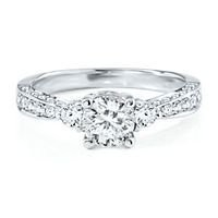 Radiant Star 1 1/4ct TW Diamond Engagement Ring - Radiant Star Rings - Helzberg Radiant Star - Collections - Helzberg Diamonds