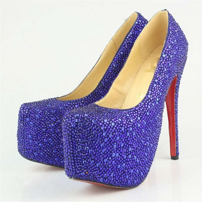 the gallery for gt blue high heel shoes 2013