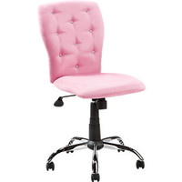 Lucille Pink Desk Chair