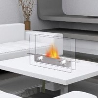 Amazon.com: METROPOLITAN Table Top Ethanol Fireplace: Patio, Lawn & Garden
