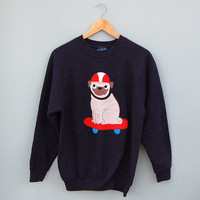 'This is How I Roll' Pug Sweater by Not For Ponies