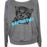 CAT TASTIC sweatshirt - SKIP N&#x27; WHISTLE  NEW ORLEANS