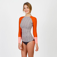 Doheny Rashguard Brown Shell | Seea