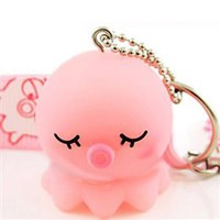 Wholesale Lovely Octopus Shape Plastic Cell Phone Strap - DinoDirect.com