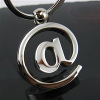 Wholesale Cyberlis Delicate Fashionable Mark Pendant Rustless Kirsite Keychains - DinoDirect.com