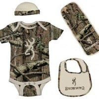 Browning Baby Boys Tan &...