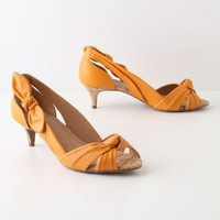 Knotted Kitten Heels - Anthropologie.com