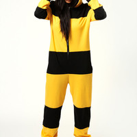 Bella Bumble Bee Hooded Onesuit