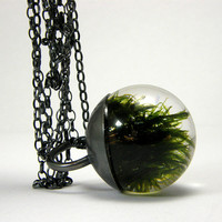 Moss Pendant Small by sisicata on Etsy