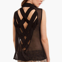 Criss Cross Back Top $29