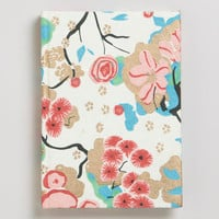 Asian Floral Pink Journal