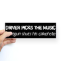 Driver Picks Supernatural Bumper Bumper Sticker on CafePress.com