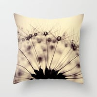 droplets of mocha Throw Pillow by ingz | Society6