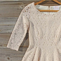Jezabel Lace Dress, Sweet Women's Bohemian Clothing