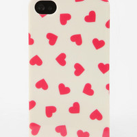 Urban Outfitters - Fun Stuff Hearts iPhone 4/4s Case