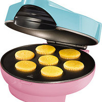 Nostalgia Electrics - Cupcake Maker - Pink &amp; Blue