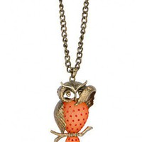 Owl Necklace - Princess Polly
