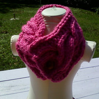 Winter Neck Warmer by inspirebynancy on Etsy