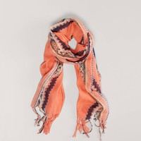 AEO Printed Fringe Scarf | American Eagle Outfitters