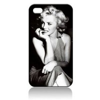 Amazon.com: Marilyn Monroe Hard Case Skin for Iphone 4 4s Iphone4 At&t Sprint Verizon Retail Packing.: Everything Else
