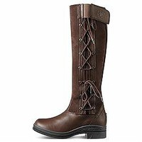 ARIAT GRASMERE LADIES WATERPROOF COUNTRY RIDING BOOT - CHOCOLATE - REGULAR FIT