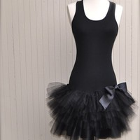 EcoVolveNow Ballerina Chic Racerback Tutu Dress. Pret a porter.