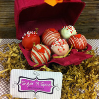 Valentines Day Cake Ball 6 pack